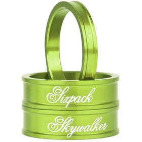 "Sixpack Skywalker Spacer 1 1/8"" electric-green"